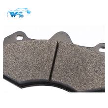 Auto brake system for Toyota fit six pistons brake caliper Modified to upgrade CP7040D61 car brake pads