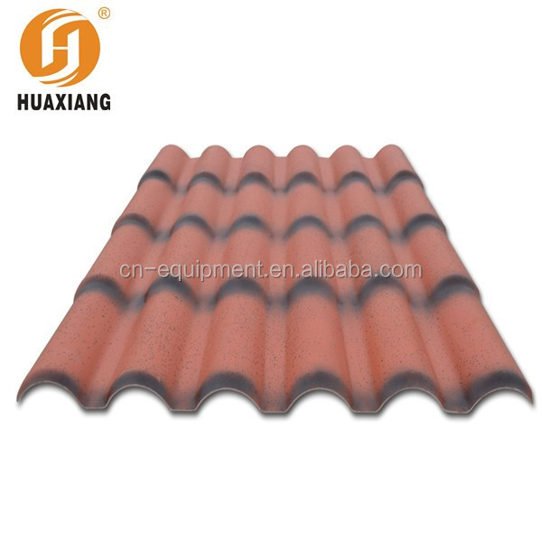 Spanish Style Stone Coated Metal Roof Tiles