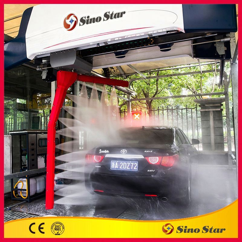 Best touchless car washing machine system from China