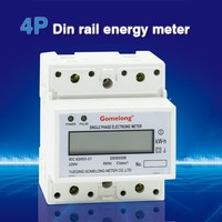 phase portable watt and electric small energy meter