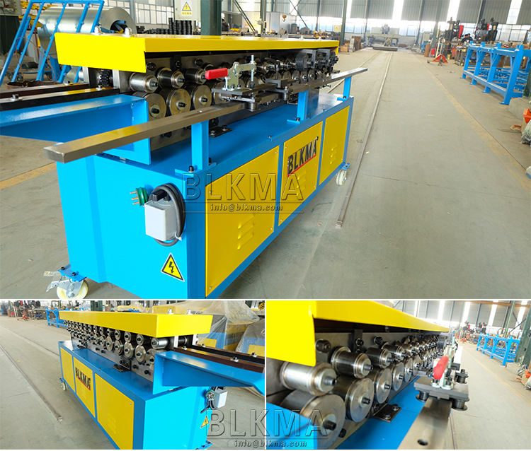 Metal Sheet Flange Forming Machine For Air Duct China Supplier