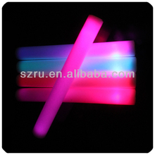 Available Personalized Customized Led Light Up Foam Stick Party gift