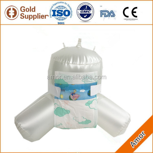 soft disposable baby diaper for girl & boy diaper manufacturer in china
