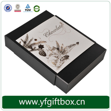 Wholesale fancy chocolate boxes customized paper box for chocolates
