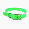 Hot Style Plastic Coated Personalized Diy Metal Buckle Dog Collar Pets Display