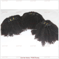 High Quality Direct Factory malaysian afro kinky curl sew in hair weave,afro kinky human hair wholesale