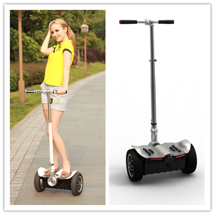 CHIC-LS Street legal two wheel self balancing eco electric motorcycle