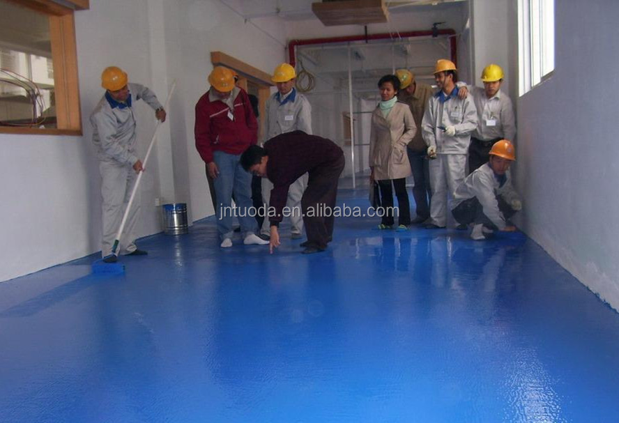 building Concete liquid floor epoxy floor coating