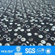 White Film on White Black Dot Bubble Fabric,Custom Design Print Fabric,Tpu Laminated Fabric