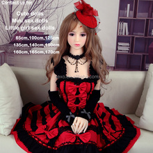 Young girl silicone sex dolls small mini little flat chest breast child love doll for adult male toys from 65cm,100cm, to 135cm