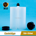 two component 1500ml plastic bottles
