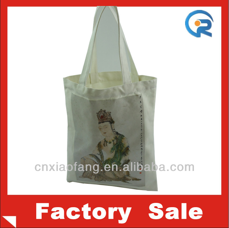 High quality China Religious propaganda canvas bag