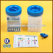 Tramadol/Methadone/Fentanyl/Amphetamines/Acetaminophen/Barbiturates/Benzodiazepines Rapid Test Kit CE/FDA Approved Drug Test Cup