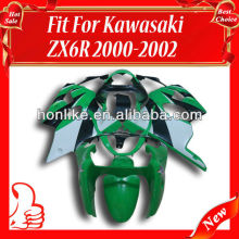Racing Fairings for KAWASAKI Ninja ZX6R 00-02 2000-2002 ZX-6R 2000 2001 2002 ABS