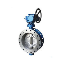 dn100 pn16 ss 316 flange connection butterfly valve