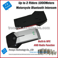 China Wholesale Bluetooth interphone 1000M Full-duplex street bike helmets with bluetooth