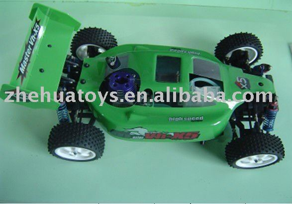 1:10 radio control kids nitro gas car