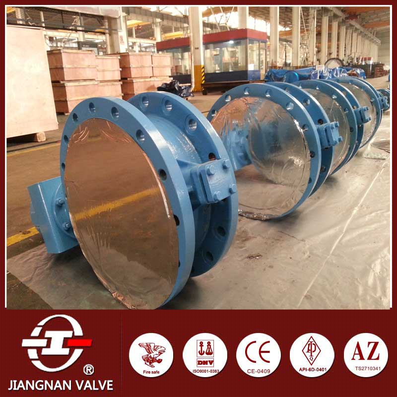 Flange butterfly valve renewable seat ring