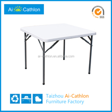 Outdoor Cheap Mahjong Table Square Folding Dining Table