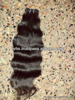 Real unprocessed virgin indian hair Virgin Indian Hair Wholesale: Natural Human Hair Extensions With Full Cuticles