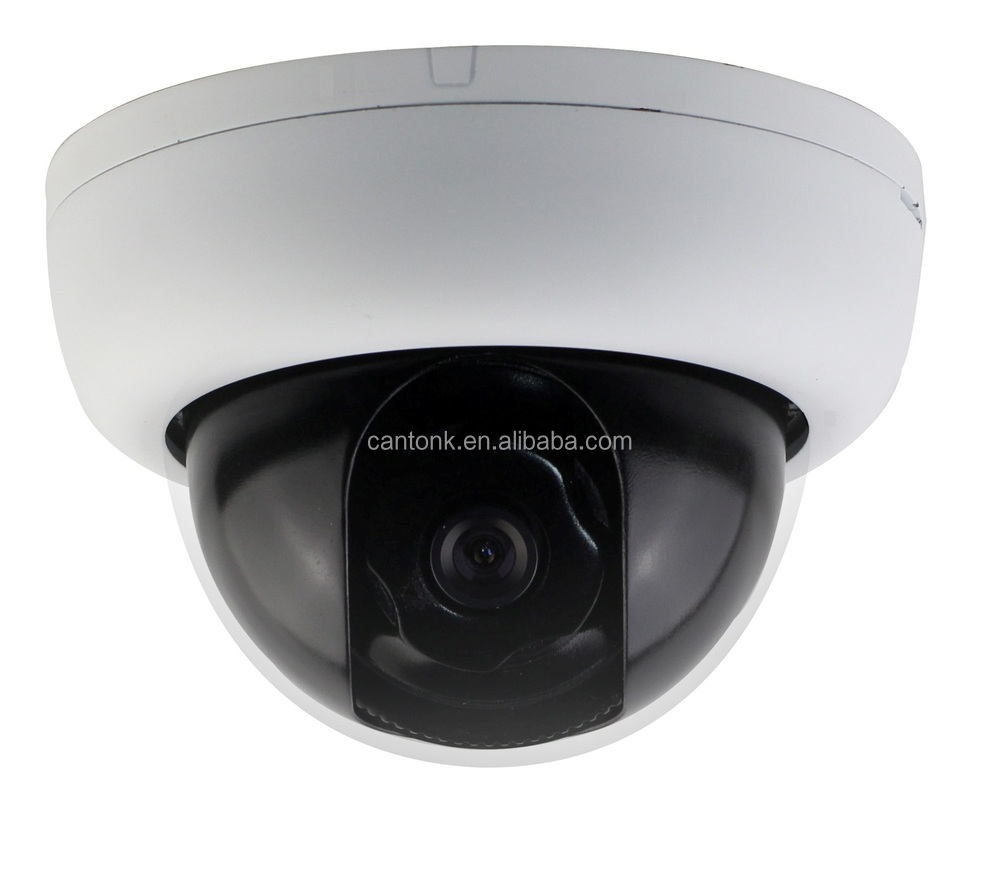 Popular Hibrid Analog & TVI 2 in 1 CMOS 1200TVL 1.3MP Plastic Dome Fixed lens Security Camera