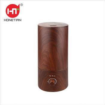 New Mode OEM/ODM 1.8L White Wood Grain adjustable mist volume air Desk Ultrasonic Humidifier