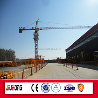 Jiuhong manufacturer direct supply 4-6T topkit tower crane/grua