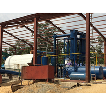 Green tech waste used tyre pyrolysis recycling plant,tyre pyrolysis oil refining