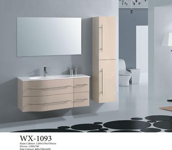 Specchio da bagno armadio pavimento in legno massiccio armadio armadietto id prodotto 692548155 - Mobili da bagno mondo convenienza ...