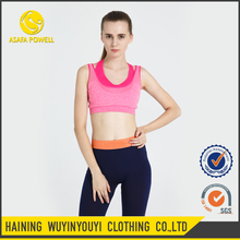 Tight Polyester New Style Various Hot Promotion Seamless Yoga Bra
