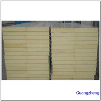 light weight building materials PU sandwich panel