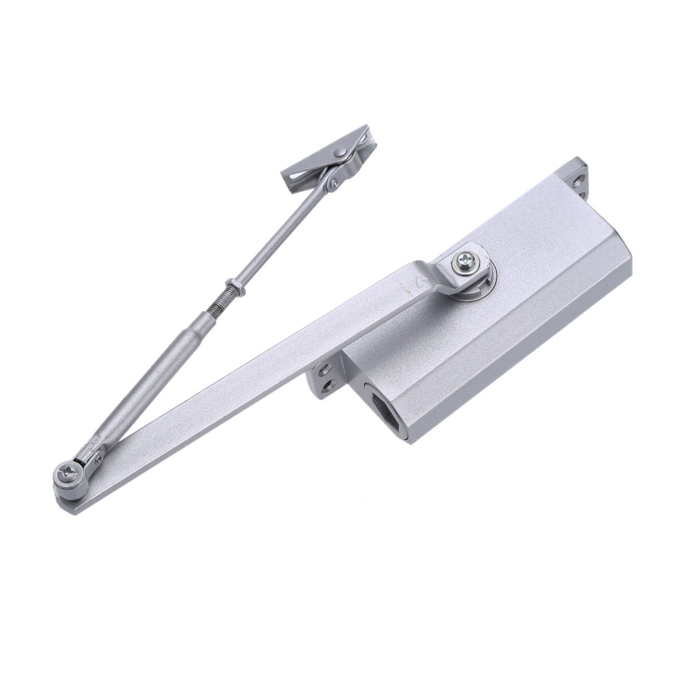 Aluminum Alloy Automatic Hydraulic 35kg Residential Commercial remote control electric Door Closer