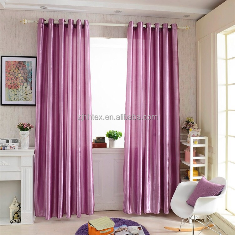 Eco-friendly high quality 300cm width satin fabric for curtains