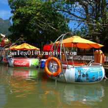 High quality bbq donut boat with zebec boat