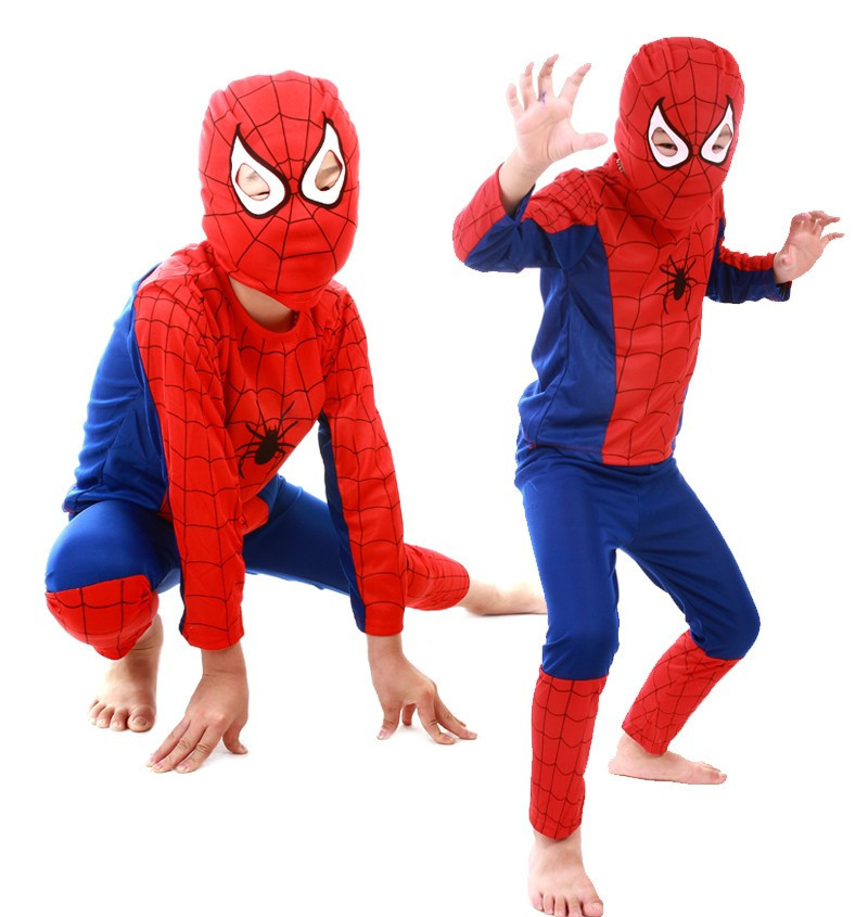 ... get quotations red spiderman costume black spiderman batman superman costumes for kids superhero capes anime cosplay ...  sc 1 st  Best Kids Costumes & Spiderman 3 Costumes For Kids - Best Kids Costumes