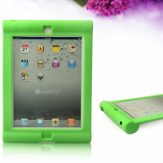 Silicone muffin cases wholesale for ipad4 custom silicon cover