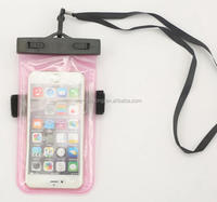 Fancy custom mobile phone pvc waterproof bag