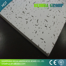types of ceiling board material,types of acoustic ceiling board,Fire ratedmineral fiber board ceiling tiles