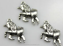 Lovely style Charm 925 sterling silver unicorn pendant wholesales