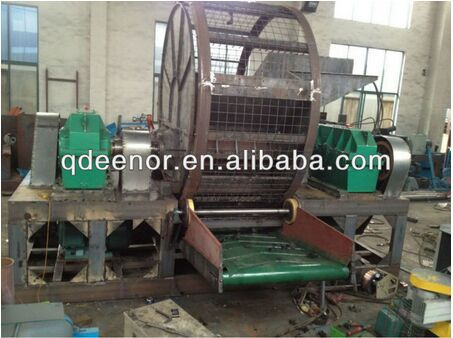 Used Tire Recycling Machine For rubber granule / waste Tire Shredder For Rubber Crumb/ Tire Recycling line for rubber particle