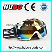 2014 stylish snow and sonwboard goggles for skiing