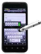 For ipad 2 for iphone 4 S G14 I9100 capacitive stylus pen laser pointer laser