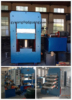 CE ISO 9001 Approved automatic rubber flooring press