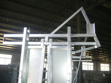 auto lock gate heavy duty cattle crush head bale