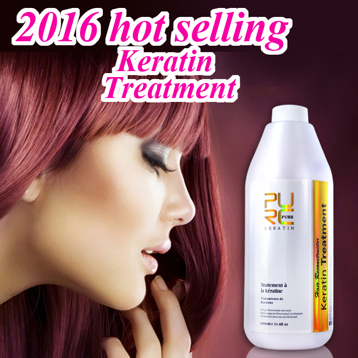 Professional hair salon most popular hair keratin treatment products high quality to repair curly hair