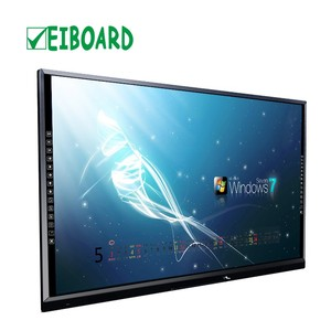 65''70'' multi touch screen tv LCD interactive smart board touch tv