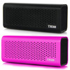 High quality aluminum bluetooth speaker with nfc function, super bass portable wireless stereo speaker with tf card