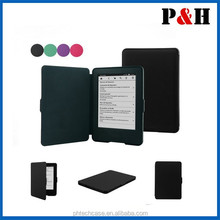 Newest design leather case for Amazon Kindle 7