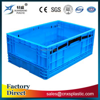 Good quality recycled industrial plastic collapsible crate
