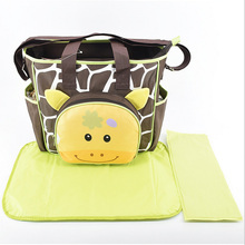 Multifunction Mummy Mother Diaper Nappy Handbag Mat Baby Pad Changing Bag for Outside Traveling and Shopping